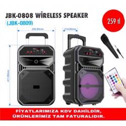 JBK-0808 WİRELESS SPEAKER