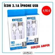 İCON 2.1A İPHONE USB