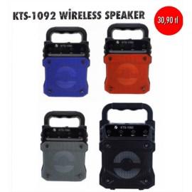 KTS-1092 WİRELESS SPEAKER