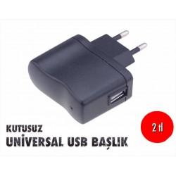 KUTUSUZ UNİVERSAL  USB BAŞLIK