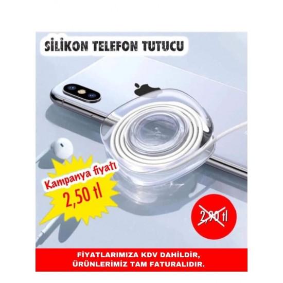 SİLİKON TELEFON TUTUCU