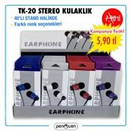 TK-20 STEREO KULAKLIK