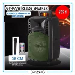 GP-07 WİRELESS SPEAKER