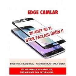 EDGE CAMLAR STOK FAZLASI 20 ADET 50 TL