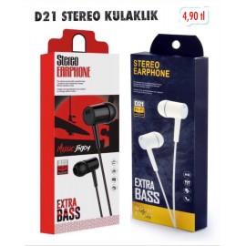 D21 STEREO KULAKLIK