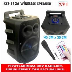 KTS-1136 WİRELESS SPEAKER
