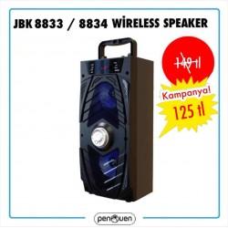 JBK 8833-8834 WİRELESS SPEAKER