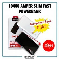 10400 AMPER SLİM FAST POWERBANK