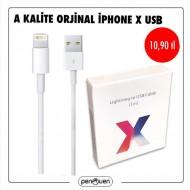 A KALİTE ORJİNAL İPHONE X USB