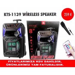 KTS-1139 WİRELESS SPEAKER