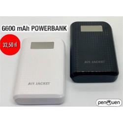 6600 mAh POWERBANK