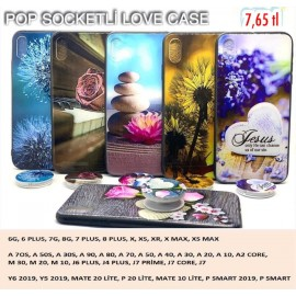 LOVE CASE POP SOCKETLİ