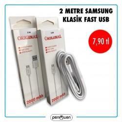 2 METRE SAMSUNG KLASİK FAST USB