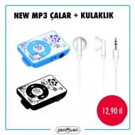 NEW MP3 ÇALAR+KULAKLIK