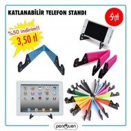 KATLANABİLİR TELEFON STANDI
