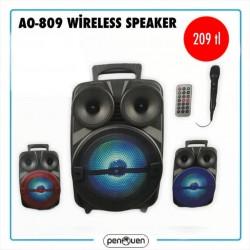 AO-809 WİRELESS SPEAKER