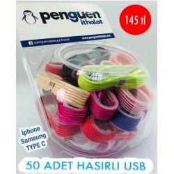 FANUSLU 50 ADET HASIRLI USB