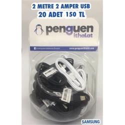 FANUSLU 2 METRE 2 AMPER USB
