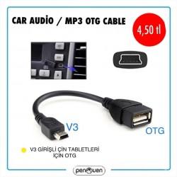 CAR AUDİO / MP3 OTG CABLE