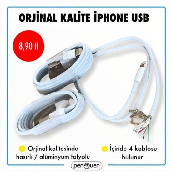 ORJİNAL KALİTE İPHONE USB