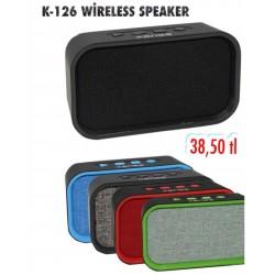 K-126 WİRELESS SPEAKER