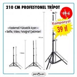 210 CM PROFESYONEL TRİPOT