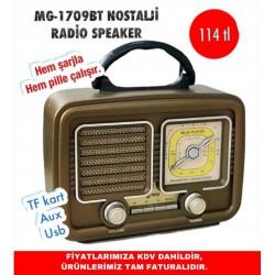 MG-1709BT NOSTALJİ RADİO SPEAKER
