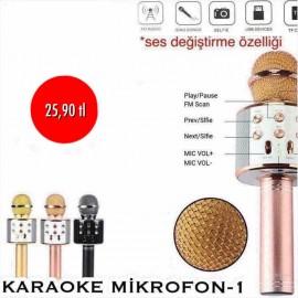 KARAOKE MİKROFON-1