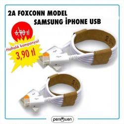 2A FOXCONN MODEL SAMSUNG-İPHONE USB