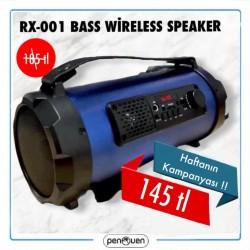 RX-001 BASS WİRELESS SPEAKER