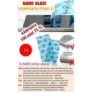 NANO GLASS KAMPANYA 100 ADET 75 TL