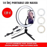 10 İNÇ PORTABLE LED HALKA