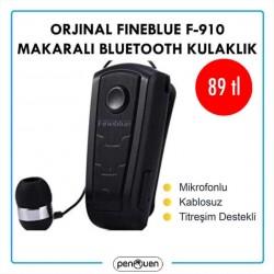 ORJİNAL FİNEBLUE F-910 MAKARALI BLUETOOTH KULAKLIK