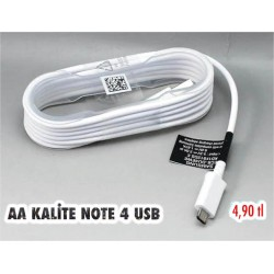 AA KALİTE NOTE 4 USB