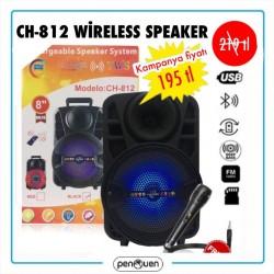 CH-812 WİRELESS SPEAKER