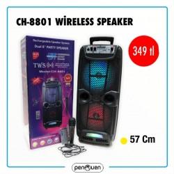 CH-8801 WİRELESS SPEAKER