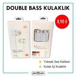 DOUBLE BASS KULAKLIK