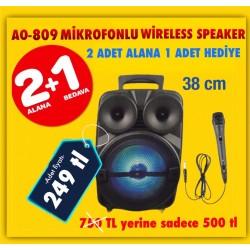 AO-809 SPEAKER 2 ALANA 1 HEDİYE!!