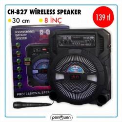 CH-827 WİRELESS SPEAKER