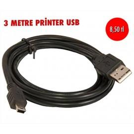 3 METRE PRİNTER USB