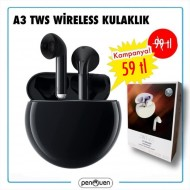 A3 TWS WİRELESS KULAKLIK