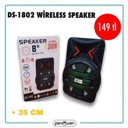 DS-1802 WİRELESS SPEAKER
