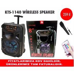 KTS-1140 WİRELESS SPEAKER