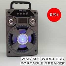 WKS-501  WİRELESS SPEAKER