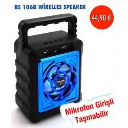 BS-106B WİRELESS SPEAKER