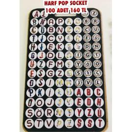 HARF POP SOCKET 100 ADET 160 TL