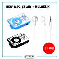 NEW MP3 ÇALAR+KULAKLIK