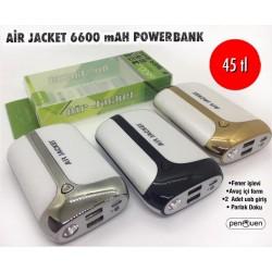 AİR JACKET 6600 mAh POWERBANK