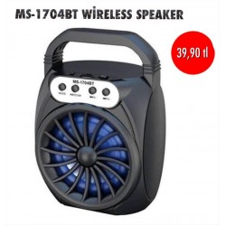 MS-1704BT WİRELESS SPEAKER