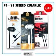 P1-Y1 STEREO KULAKLIK